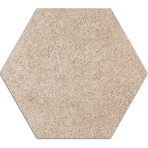 Cement Fliser Optik Hexagon Gulvfliser Atlanta Beige Skifer