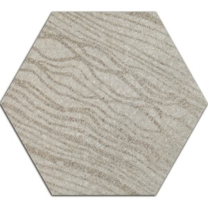Cement Fliser Optik Decor Hexagon Atlanta Gra