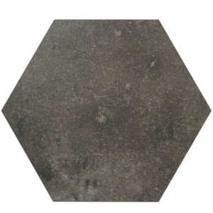 Gulvfliser Casablanca Hexagon Antracit 52x60cm