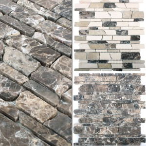Mosaikfliser Marmor Havel Brick